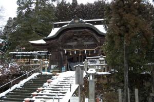 冬の大原神社