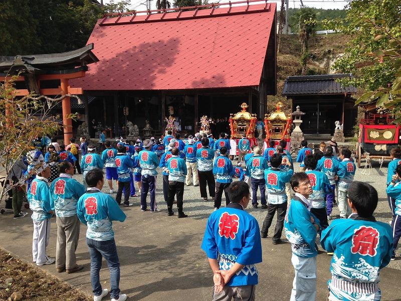 梅田神社秋祭り2014