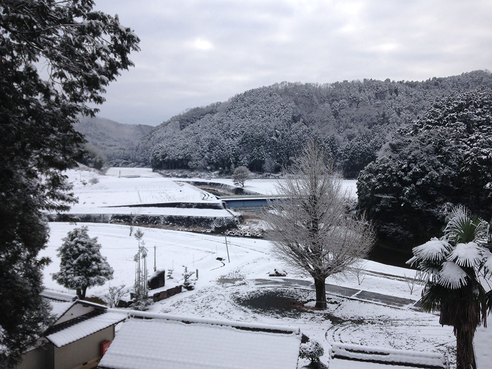 雪の記録 2014年 福知山市