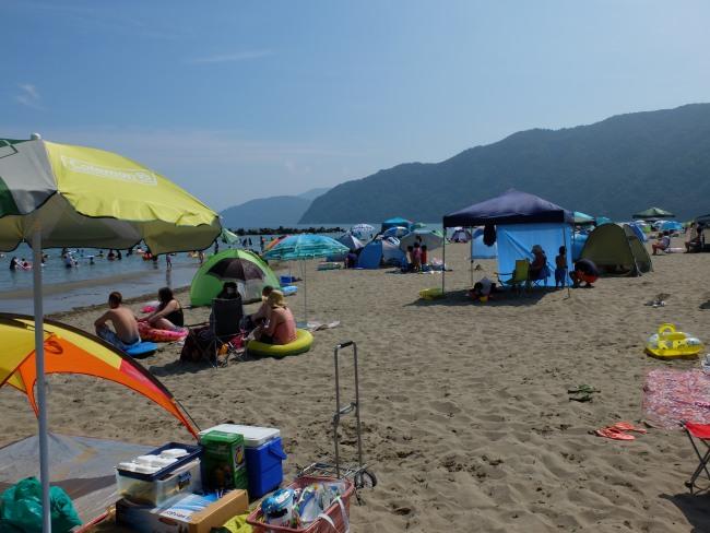 神崎海水浴場|舞鶴|駐車場が止めやすい