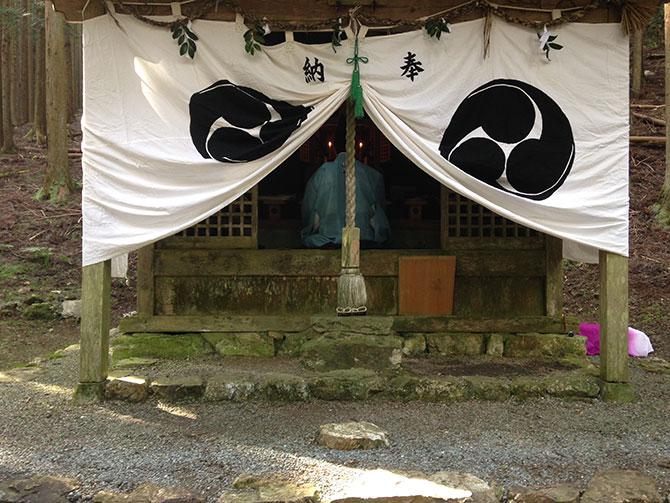 熊野神社例祭|山にある神社の祭礼