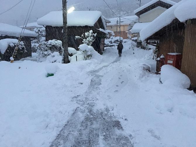 福知山 積雪2017