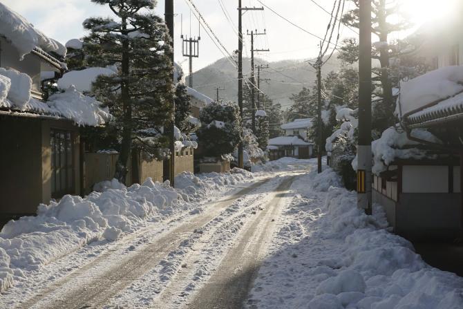 福知山 積雪