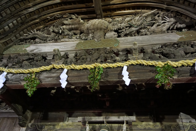大原神社 初詣