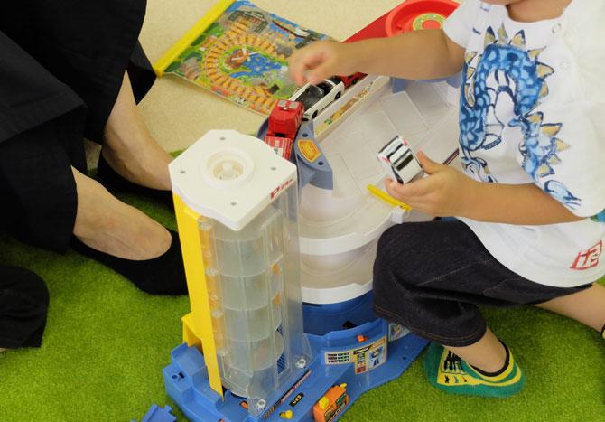 東条湖おもちゃ王国 トミカで遊ぶ