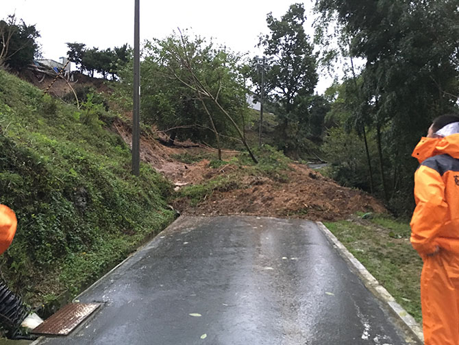 2017年台風の記録