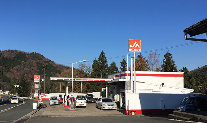 最後のガソリンスタンドが無くなって