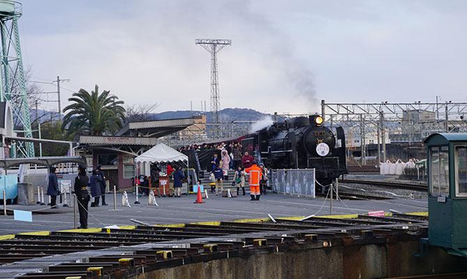 蒸気機関車に乗ってみたい