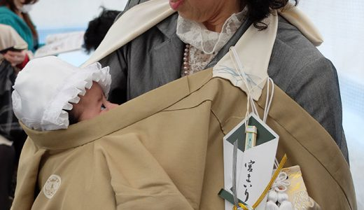 お宮参り 大原神社