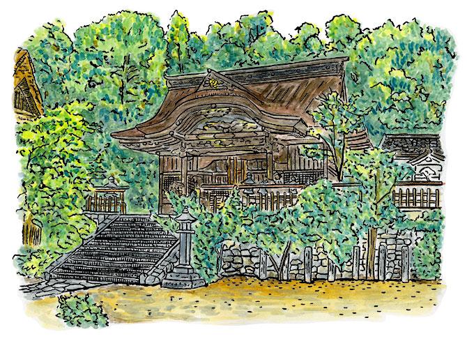大正期の大原神社